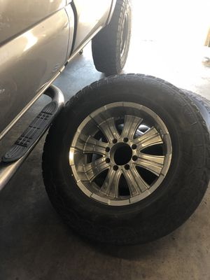 "20"" chrome rims set of 4 for Sale in Claremont, CA"