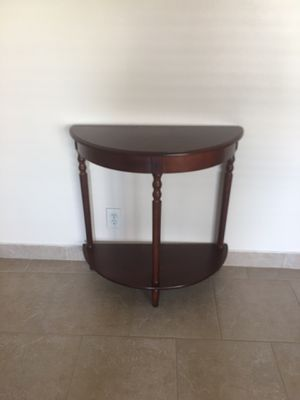 Console wood table! for Sale in Sunrise, FL