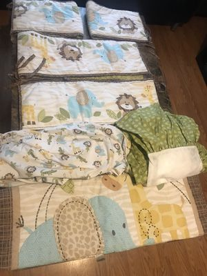 Baby crib bedding for Sale in Philadelphia, PA