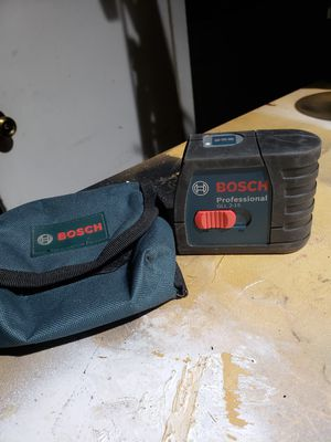Bosch GLL2-15 Self Leveling Cross Line Laser Level for Sale in Orlando, FL