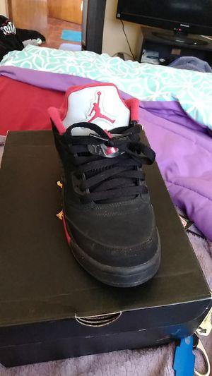 Jordan 5 retro low for Sale in Detroit, MI