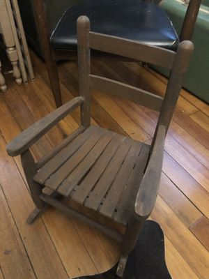 Antique Child Size Rocking Chair for Sale in Philadelphia, PA