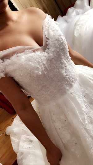 Long wedding dresses for Sale in Brockton, MA