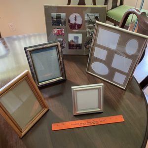 5 Picture Frames - All for $15 for Sale in Boynton Beach, FL