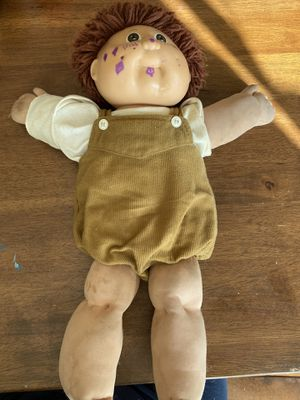 Vintage 1985 Cabbage Patch Doll with original clothes for Sale in Des Moines, WA