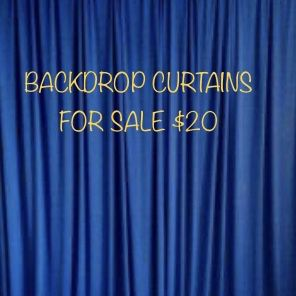 💙BACKDROP CURTAINS FOR SALE 💙 for Sale in Chino, CA