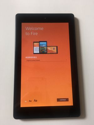 Amazon Fire 7 8gb tablet with Alexa 7th gen Kindle fire HD7 for Sale in Norcross, GA