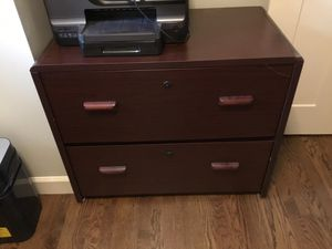 2 drawer hanging file cabinet for Sale in HOFFMAN EST, IL