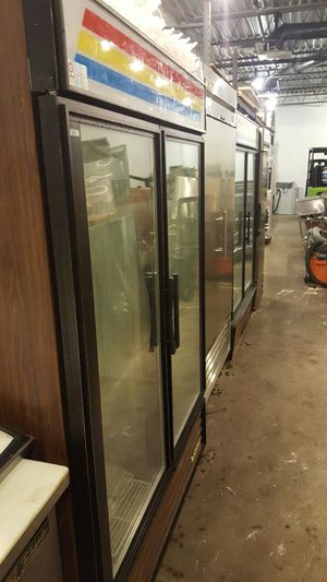 2 glass door refrigerator GDM 49 for Sale in Bethesda, MD