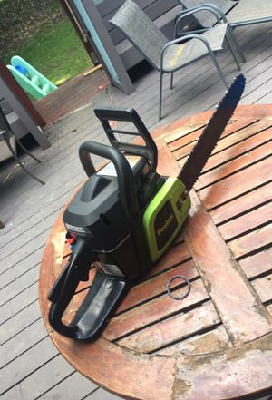 Poulan chain saw for Sale in Seattle, WA