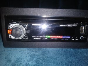 DUAL MOSFET CAR STEREO Cd-MP3-WMA Receiver for Sale in Las Vegas, NV