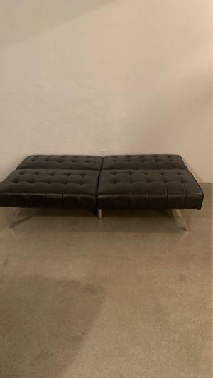 Futon dark brown like new for Sale in Bakersfield, CA