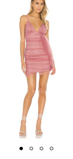 Revolve Party Dress (Pink, Bodycon, Tulle, Mini) for Sale in Chino Hills,  CA