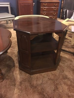 Great End Table - Storage Shelved for Sale in Kittanning, PA