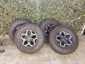 2020 Jeep Rubicon Gladiator wheels for Sale in Upland, CA