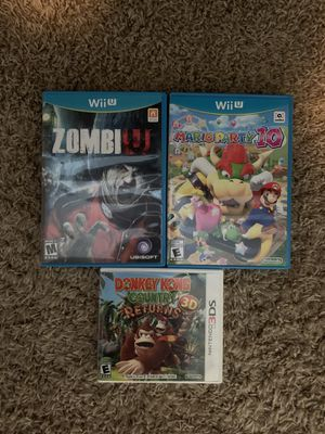Nintendo Games - Wii U & 3DS for Sale in Vancouver, WA
