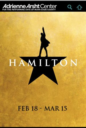 TODAY 2/20th * ONE Hamilton Ticket in MIAMI for Sale in Boynton Beach, FL