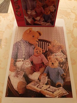 1987 Teddy Bears Jigsaw Puzzle for Sale in West Dundee, IL