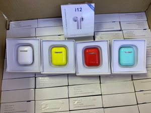i12 TWS Bluetooth AirPods Style Earbuds Smart Touch Control Headset Headphone for Sale in Blackwood, NJ