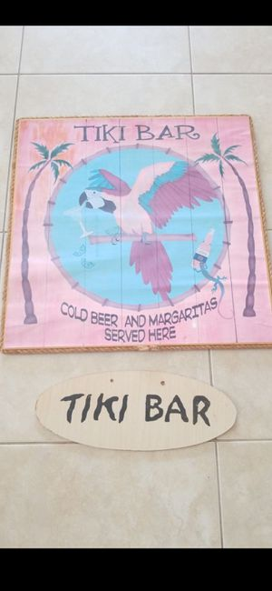 2 TIKI PICTURES for Sale in Delray Beach, FL