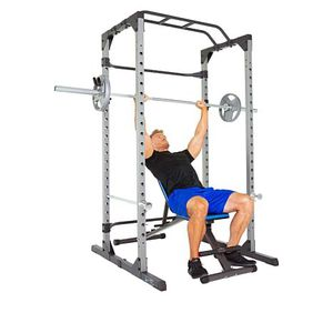 800 Lbs Weight Capacity Power Rack Cage with Lock-in J-Hook for Sale in Stockton, CA