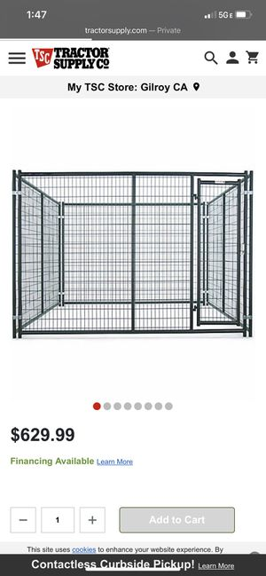 Used dog kennel great shape for Sale in Antioch, CA