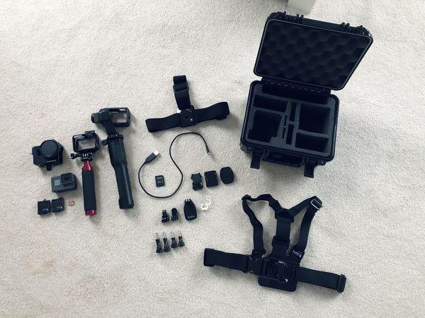 GoPro HERO5 + Karma Grip + Accessories