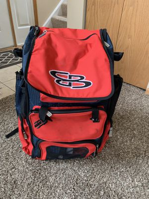 LIKE NEW Large Boombah Baseball Equipment Backpack for Sale in North Aurora, IL