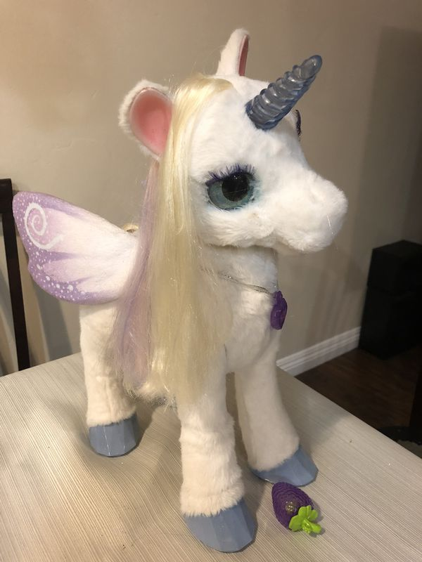 Furreal Friends Starlily My Magical Unicorn Plush Interactive Pet