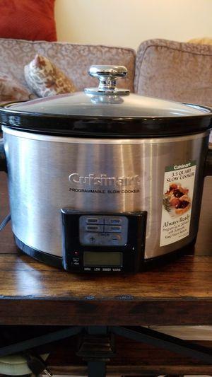 Cuisinart 3.5 Quart Programmable Slow Cooker for Sale in Washington, DC