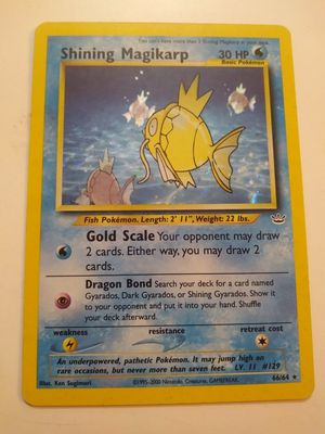 Shining magikarp Pokemon card for Sale in Tucson, AZ
