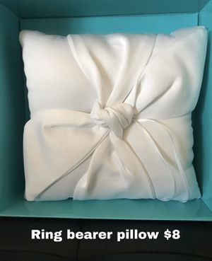 Ring bearer pillow for Sale in Sulphur, LA