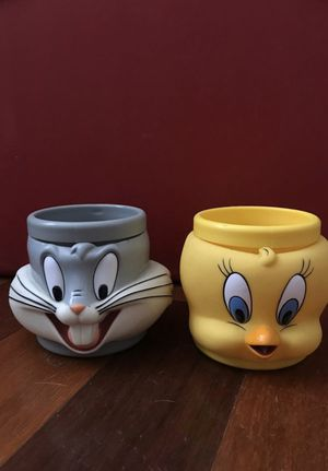 Bugs Bunny and Tweety bird mugs for Sale in Tempe, AZ