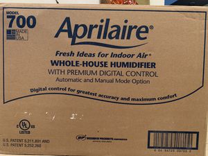 Aprilaire whole house humidifier for Sale in Stafford, VA