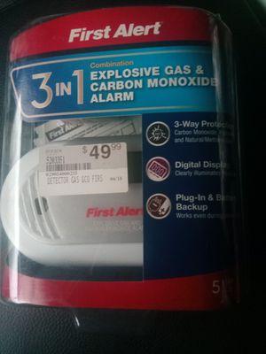 Explosive gas, carbon monoxide alarm/detector for Sale in Dillsburg, PA