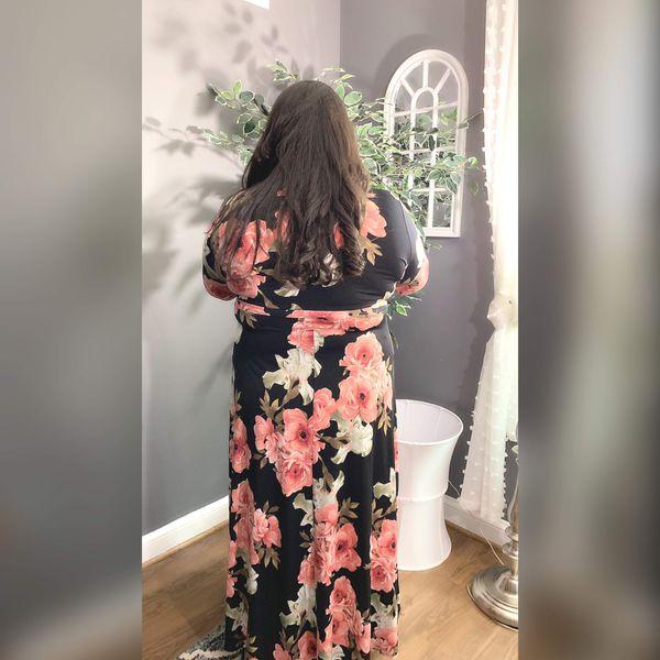 Plus woman Maxi Dress