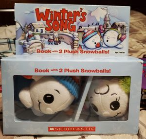 Winter's Song with toys book for Sale in North Haledon, NJ