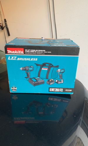 Makita 18v LXT Brushless 2 Piece Combo Kit for Sale in Brea, CA