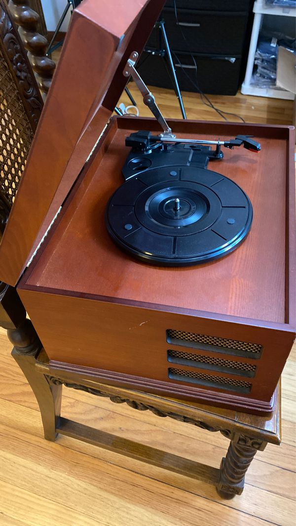 Crowley Record, CD, and tape player.