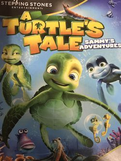 A Turtle's Tale Sammy's Adventures Dvd Movie for Sale in Elma,  WA
