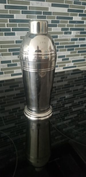Stainless Steel Cocktail Shaker for Sale in Silver Spring, MD