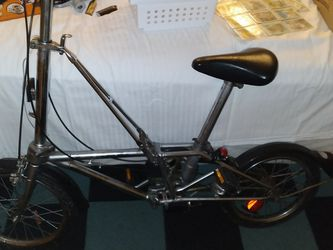 RARE DAHON STAINLESS FOLDING BIKE for Sale in San Francisco,  CA