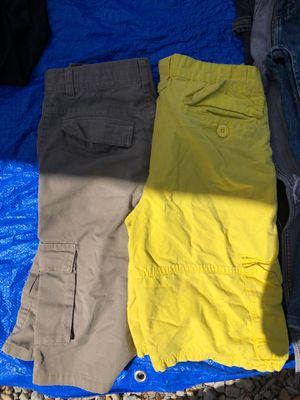 Shorts. Brow are 14, yellow 16 for Sale in Albuquerque, NM