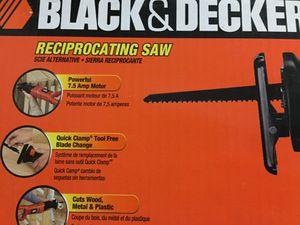 BLACK & DECKER RECIPROCATING SAW for Sale in Homestead, FL