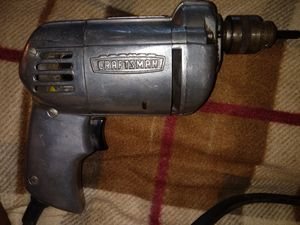 Classic/older model Craftsman corded drill for Sale in Elkhart, IN