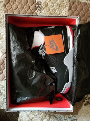 Air Jordan Retro 4 'Bred' (2019) for Sale in Fort Lauderdale, FL