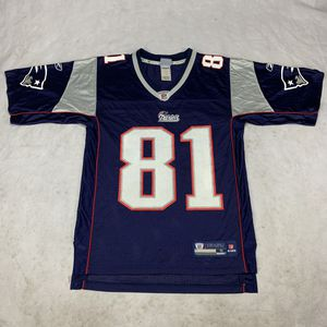 Vintage Reebok Authentic Randy Moss New England Home Jersey for Sale in Westminster, CA