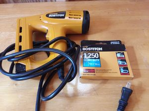 STANLEY BOSTITCH heavy duty staple gun for Sale in Schuyler, VA