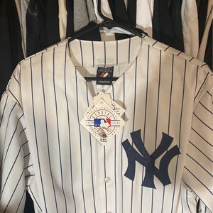 Authentic NY Baseball Jersey for Sale in Los Angeles, CA