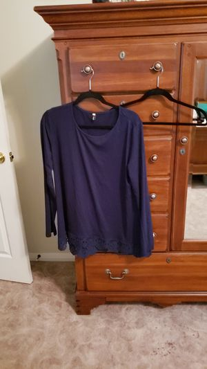 Tunic wide lace trim xl for Sale in Leander, TX